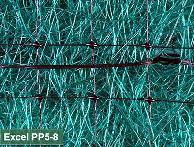 EXCEL PP5-8 PERMANENT TURF REIMFORC. MAT 8'X112.5'