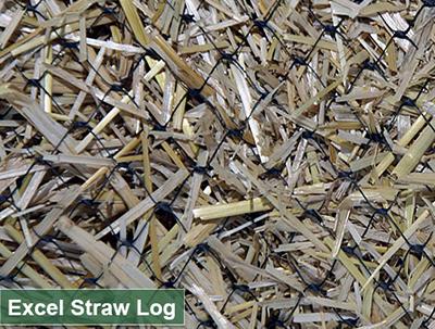 "STRAW LOG 12""X10'"
