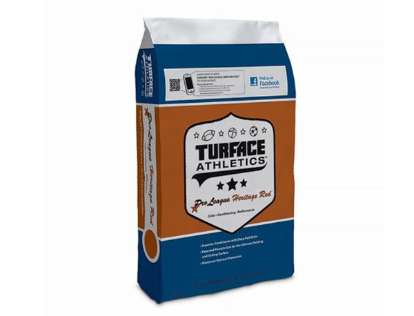 TURFACE PRO LEAGUE HERITAGE RED INFIELD CONDITIONER 50 LB