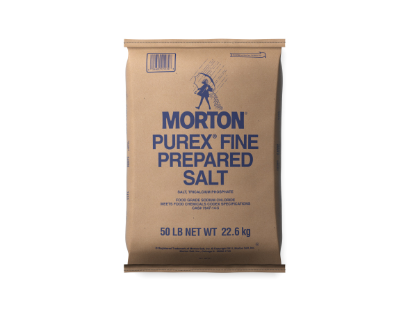 Morton Purex Fine Prepared Salt - Caudill Seed Company