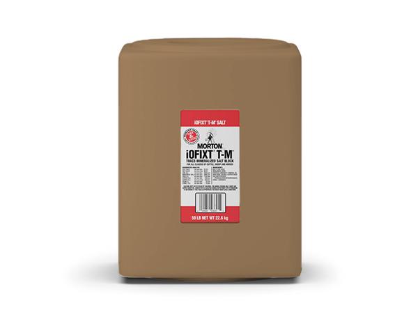 Morton Trace Mineralized Salt Block - Caudill Seed Company