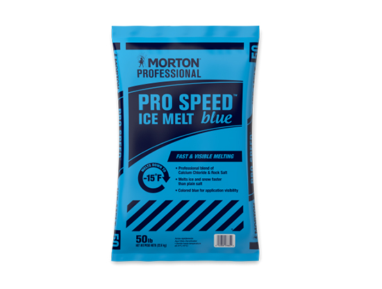 Pro Speed Blue Ice Melt Morton Salt - Caudill Seed Company