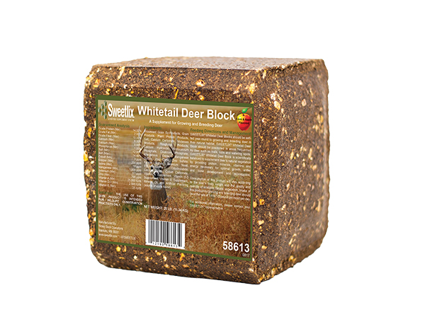 Sweetlix® Whitetail Deer Pressed Block - Caudill Seed Company