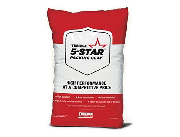 TURFACE 5-STAR PACKING CLAY MOUND CLAY 50 LB