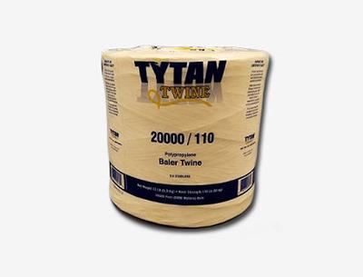 TYTAN 20000'/110 # KNOT SOLAR DEGR. POLY BALER TWINE 1/BALE