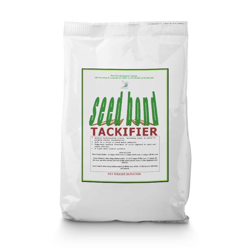 20 Lb Soil Tackifier - Wholesale & Bulk - Caudill Seed Company