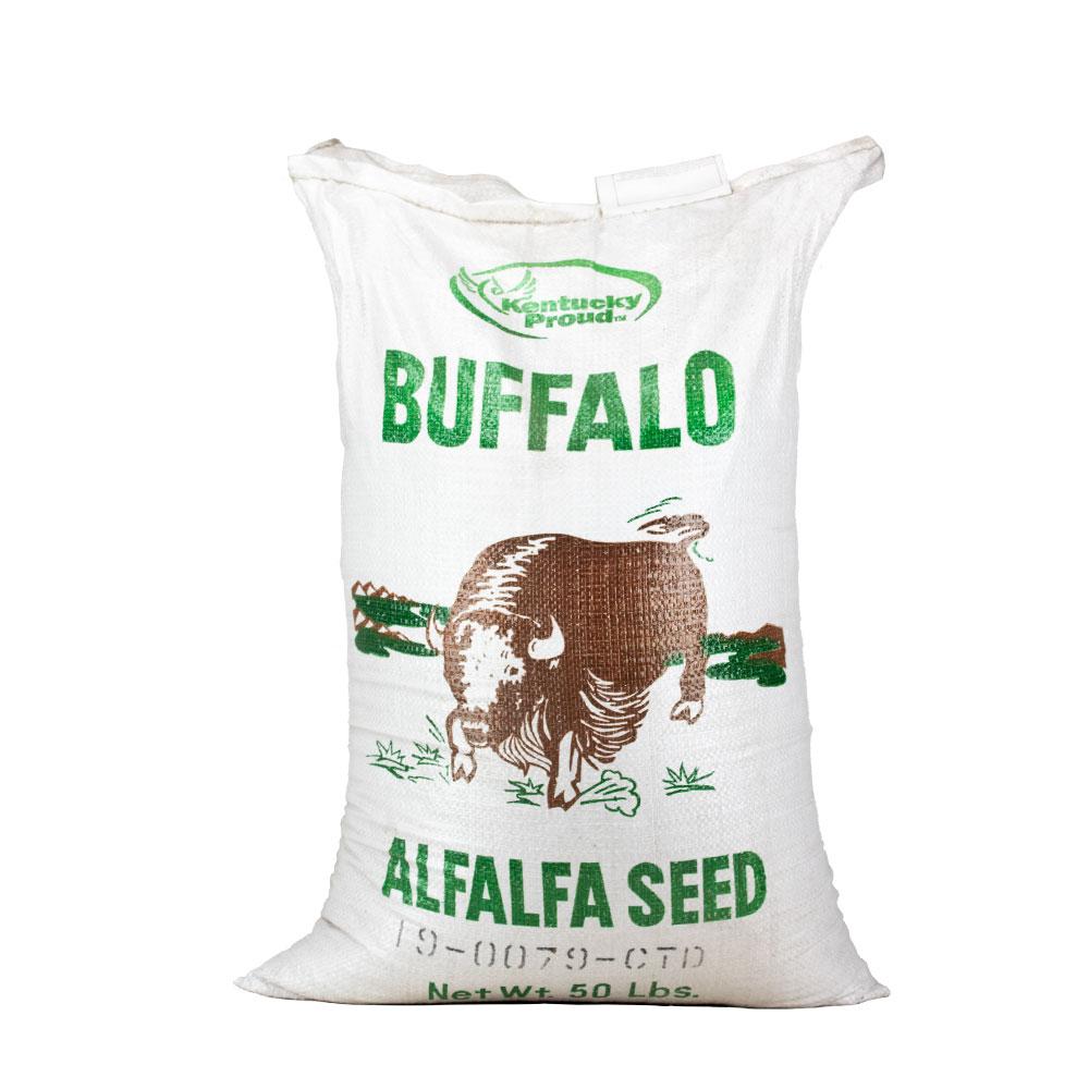 Coated Buffalo Alfalfa Seed 34% - Caudill Seed Company