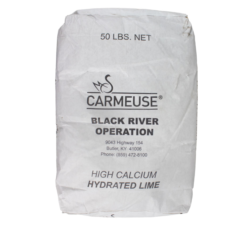 Hydrated Limestone - 50 Lb Bag - Caudill Seed Company