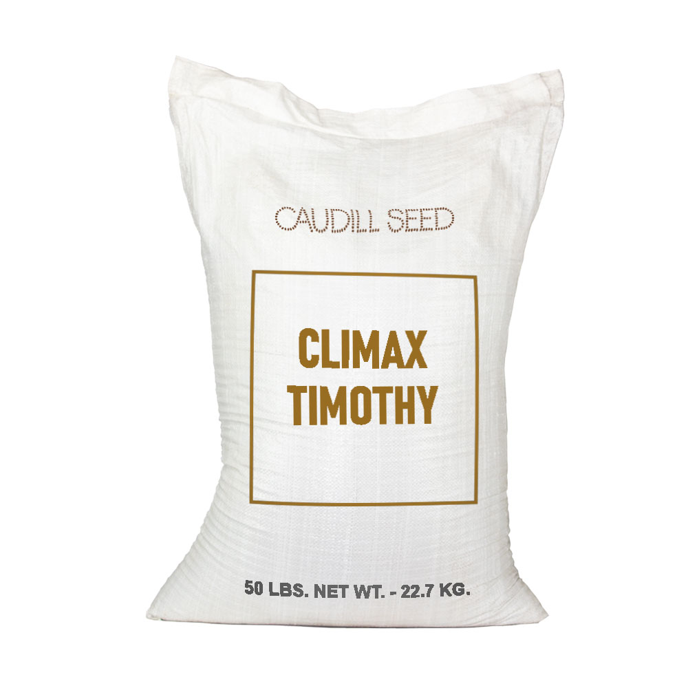 Climax Timothy Seed - Caudill Seed Company