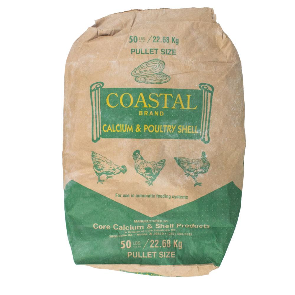 Coastal Brand Calcium & Poultry Shells - Bulk - Wholesale - Caudill Seed Company