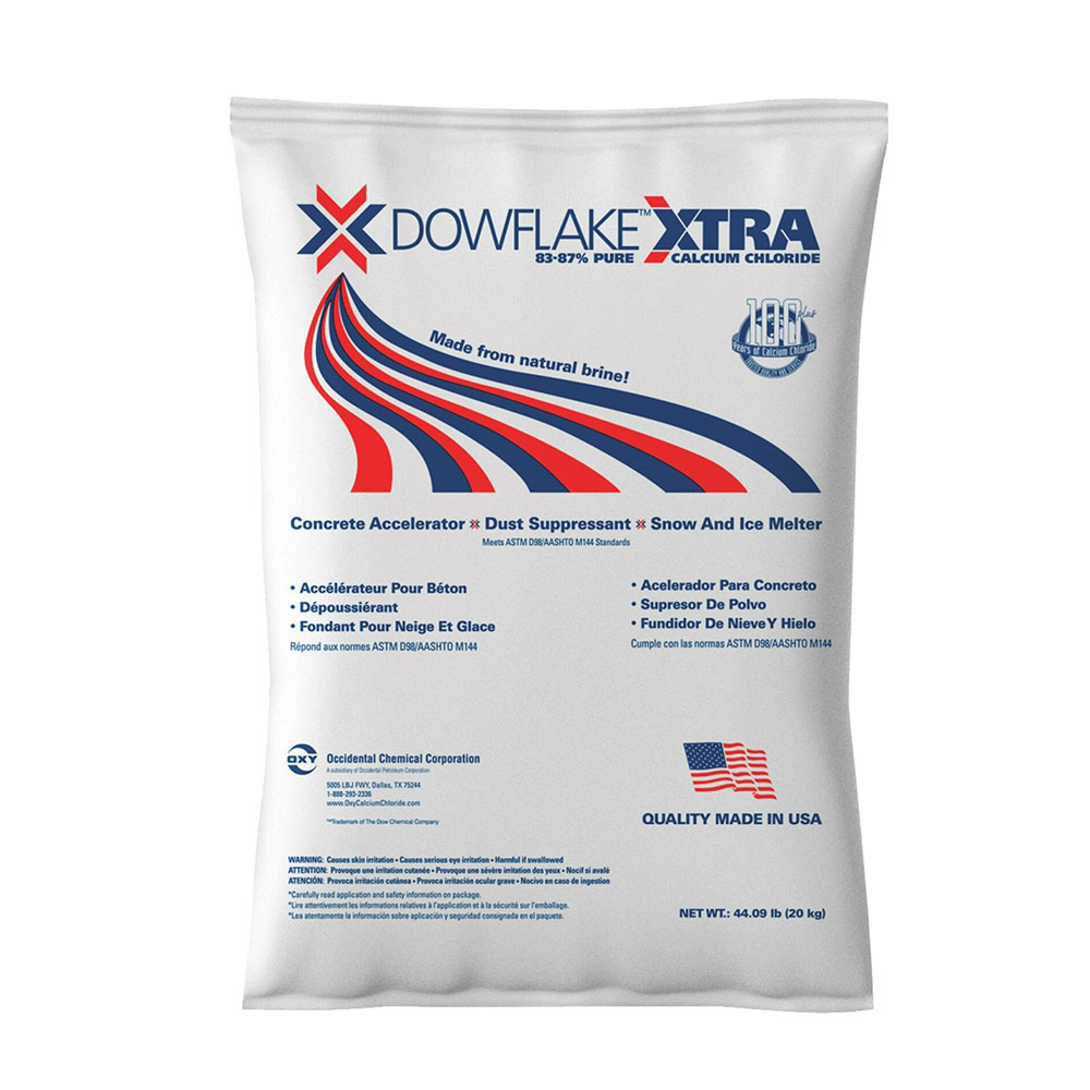 Calcium Chloride Flake Xtra Ice Melter - 50Lb Bag  - Caudill Seed Company