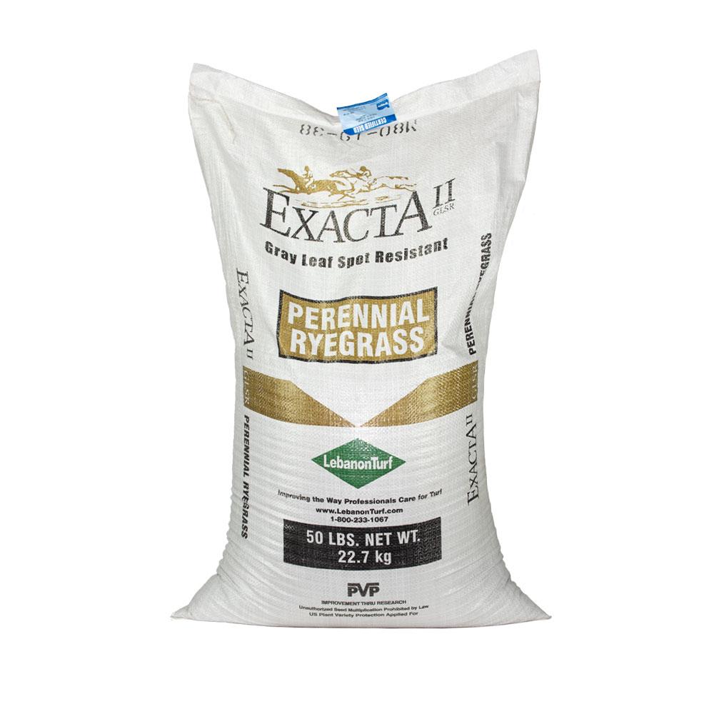 Exacta II GLSR Perennial Ryegrass Seed - Caudill Seed Company