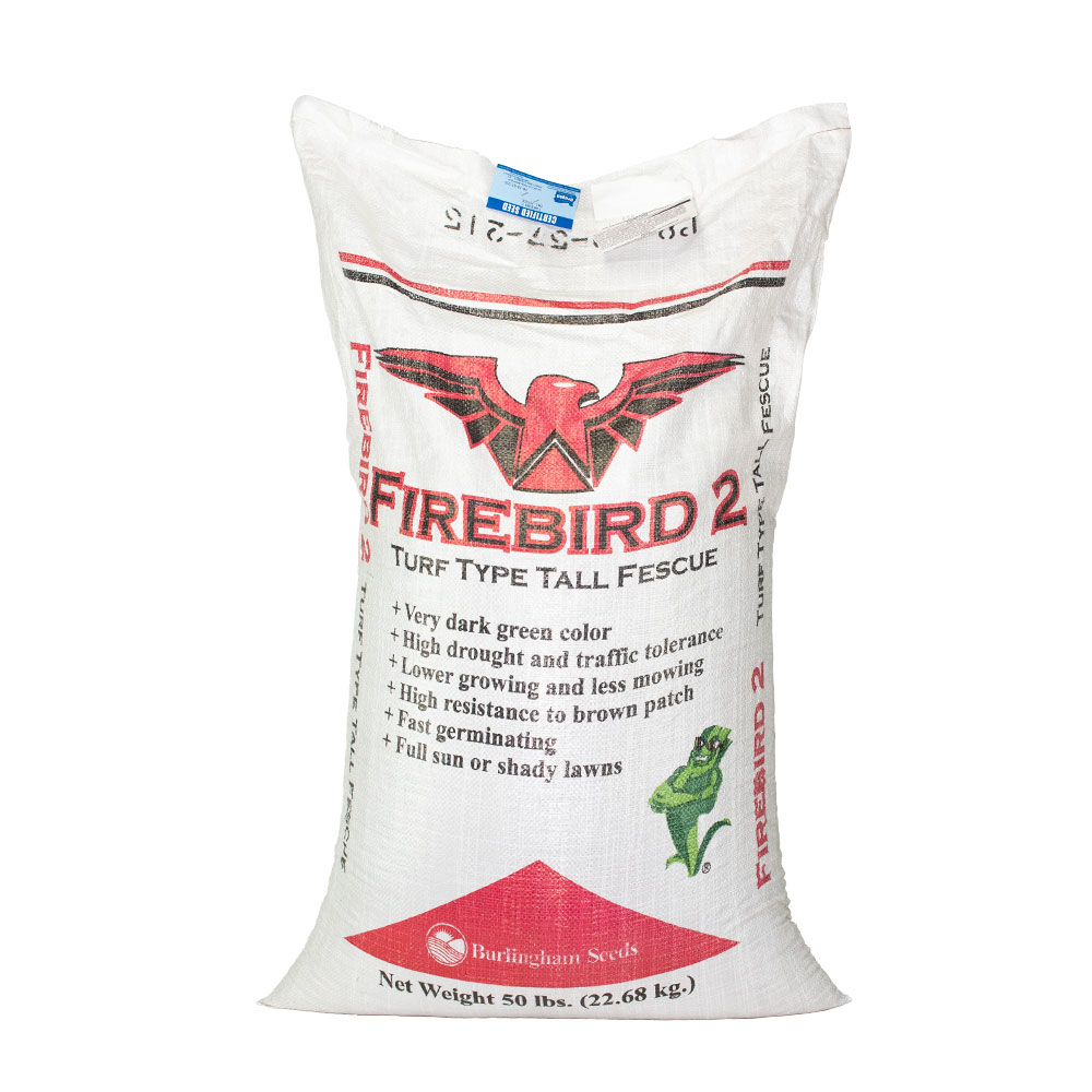 CERT. FIREBIRD 2 TURF TYPE TALL FESCUE SEED 50 LB