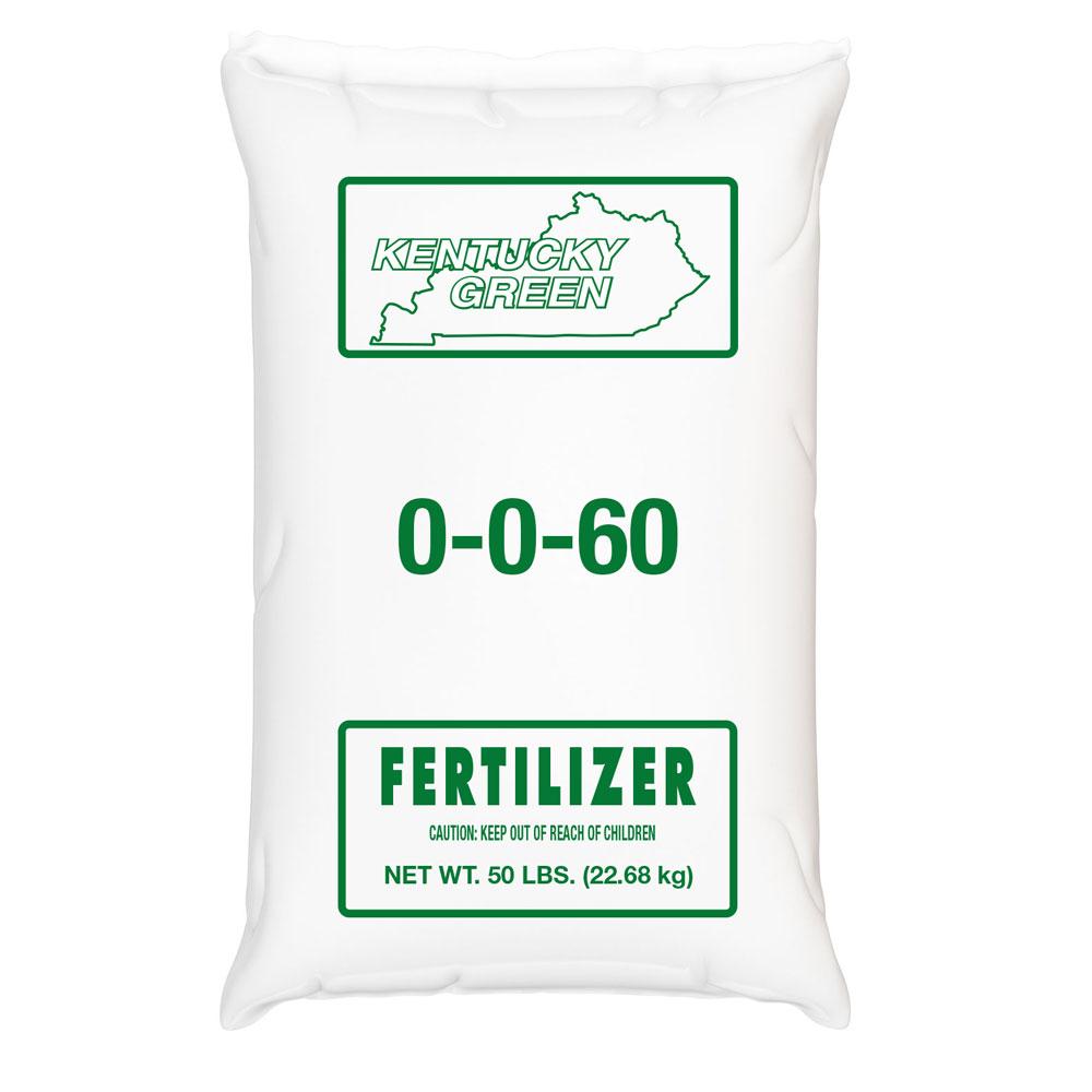 Kentucky Green 0-0-60 Fertilizer - Caudill Seed Company
