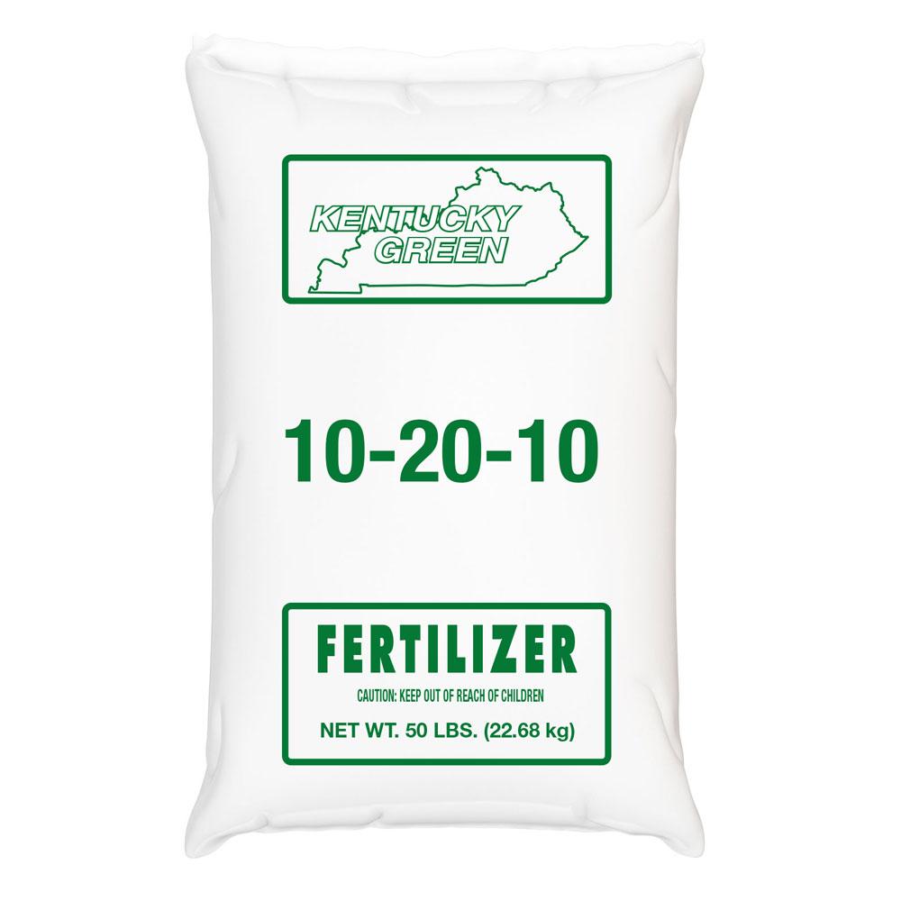 Kentucky Green 10-20-10 Fertilizer - Caudill Seed Company