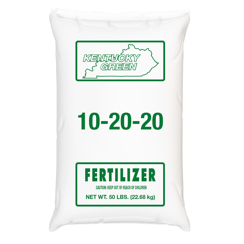 Kentucky Green 10-20-20 Fertilizer - Caudill Seed Company