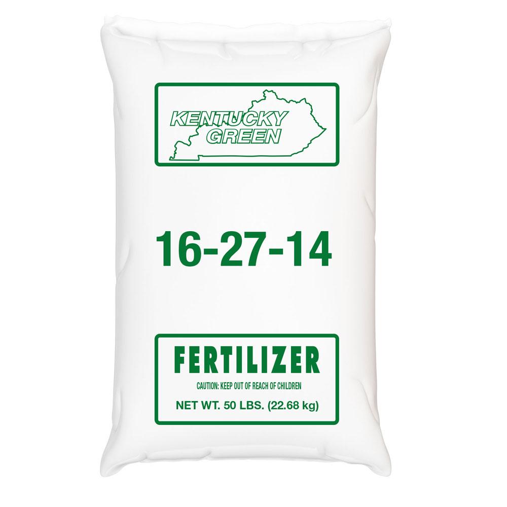 Kentucky Green 16-27-14 Fertilizer - Caudill Seed Company
