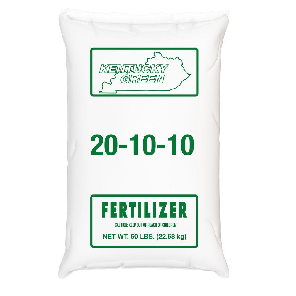 Kentucky Green 20-10-10 Fertilizer - Caudill Seed Company