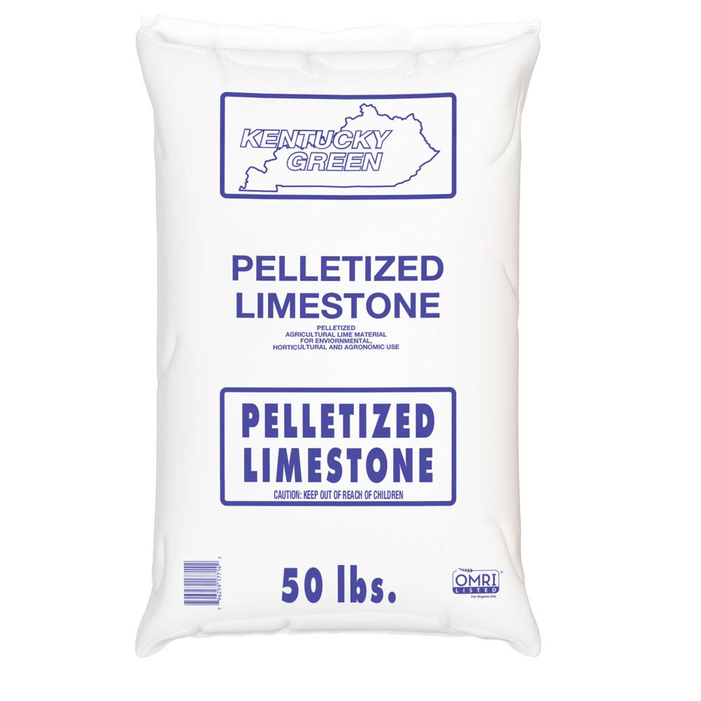Pelletized Limestone Bag - 50 Lb Bag - Caudill Seed Company