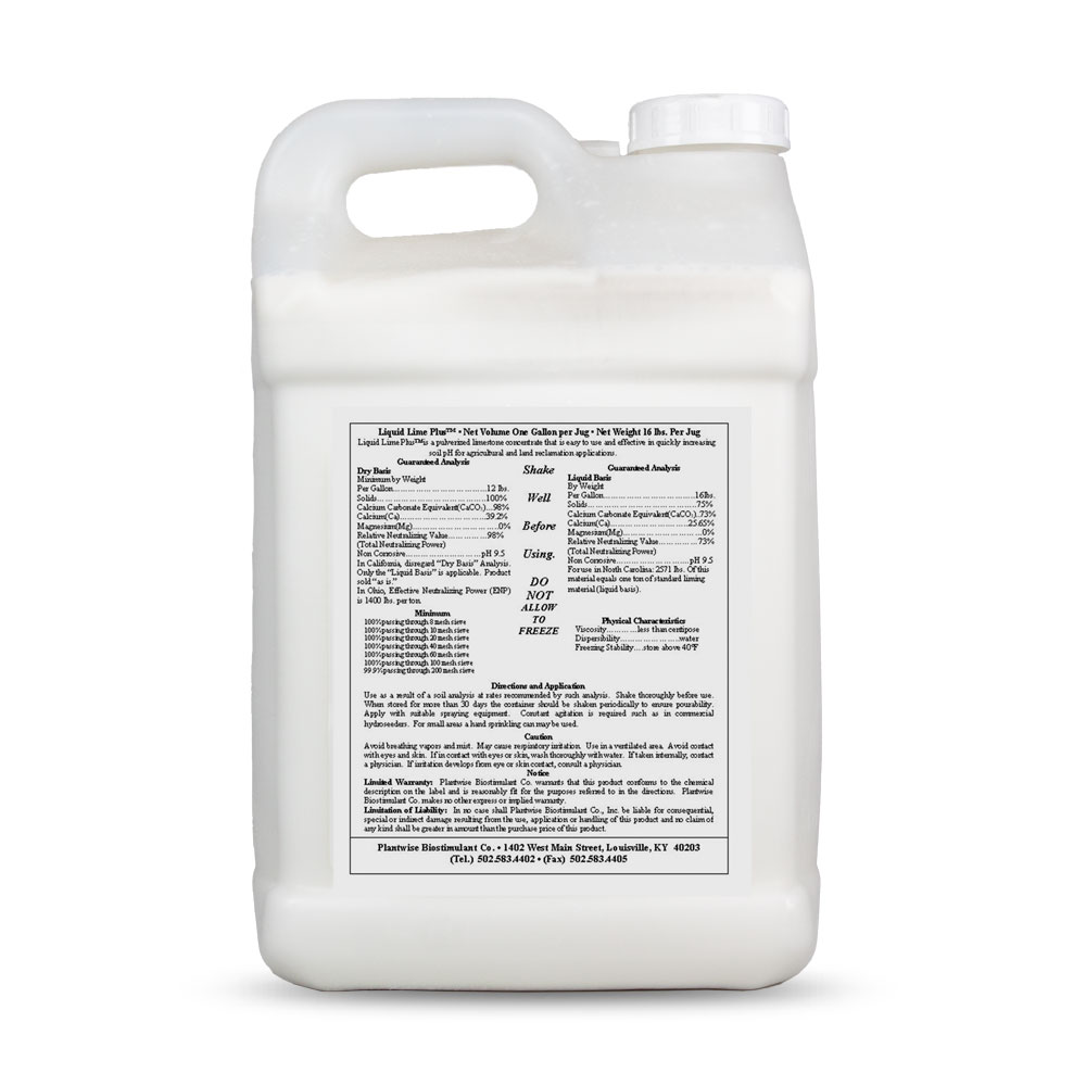 Liquid Lime Plus for Lawn - 2.5 Gallon - Caudill Seed Company