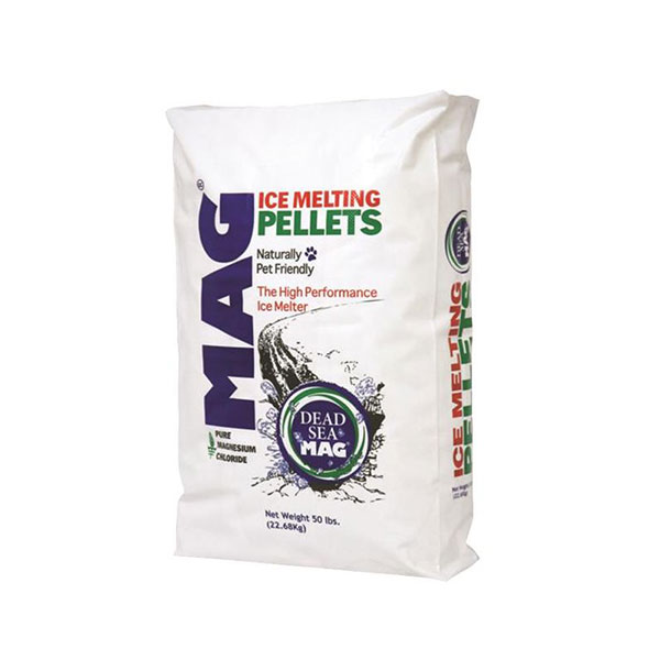 Magnesium Chloride Ice Melt Pellet - 50LB Bag  - Caudill Seed Company