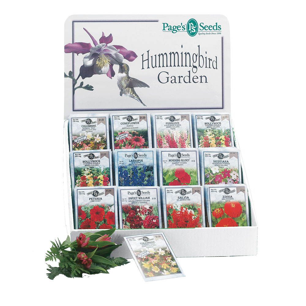 Pages Hummingbird Garden Seed Collection - Caudill Seed Company