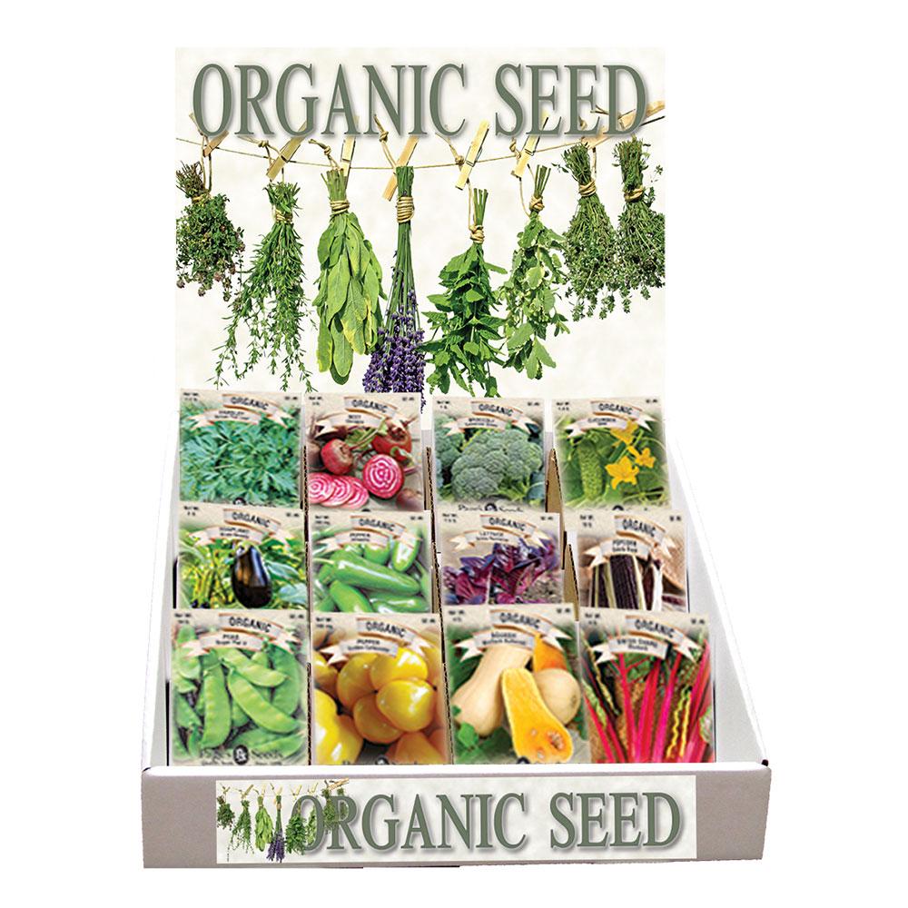 Premium Organic Herb Assortment, Counter Display