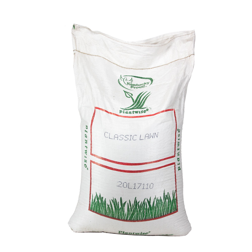 Plantwise Classic Lawn Turf Seed Mixture 50 Lb - Caudill Seed Company