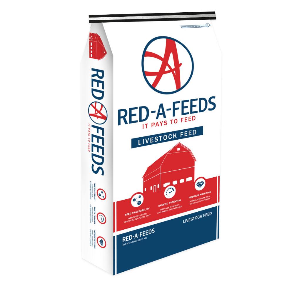 Red A 15% Rabbit Feed - 25 Lb Bag - Caudill Seed Company