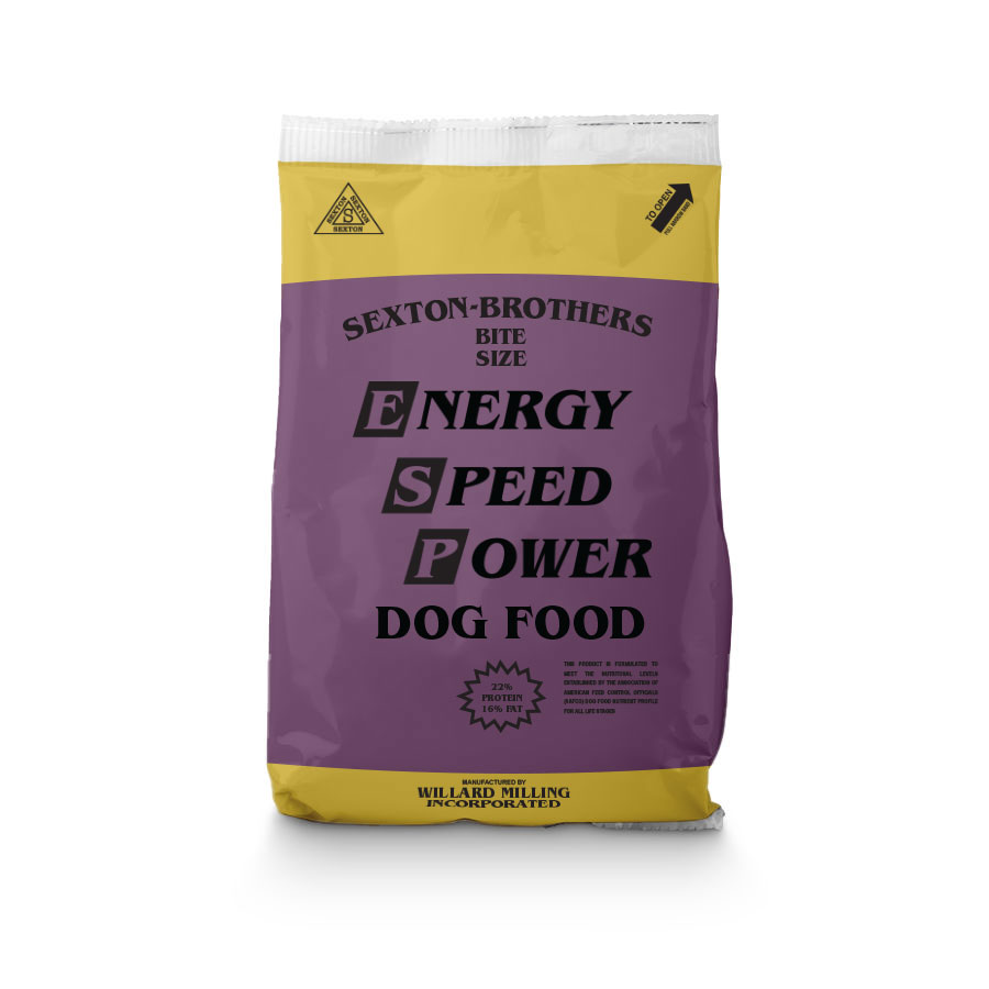 Sexton Brothers Dog Food - Bite Size - 22% Protein - Caudill Seed Company