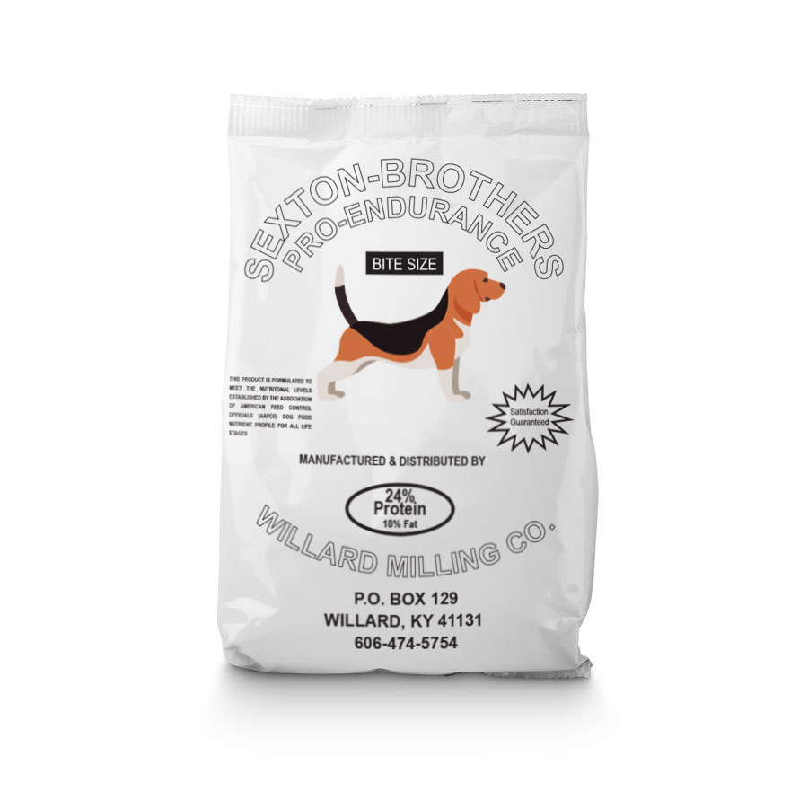 Sexton Brothers Dog Food - Bite Size- 24% Protein - Caudill Seed Company
