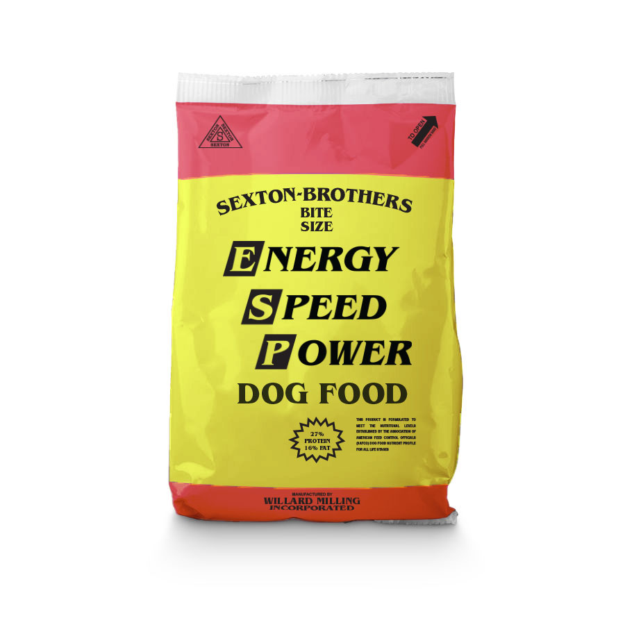 Sexton Brothers Dog Food - Bite Size - 27% Protein - Caudill Seed Company