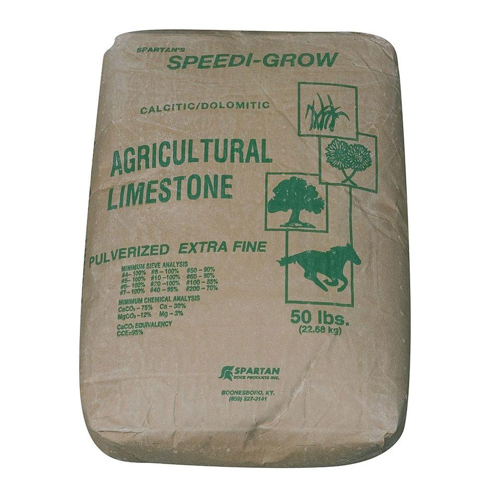 Agricultural Limestone  - 50 Lb Bag - Caudill Seed Company