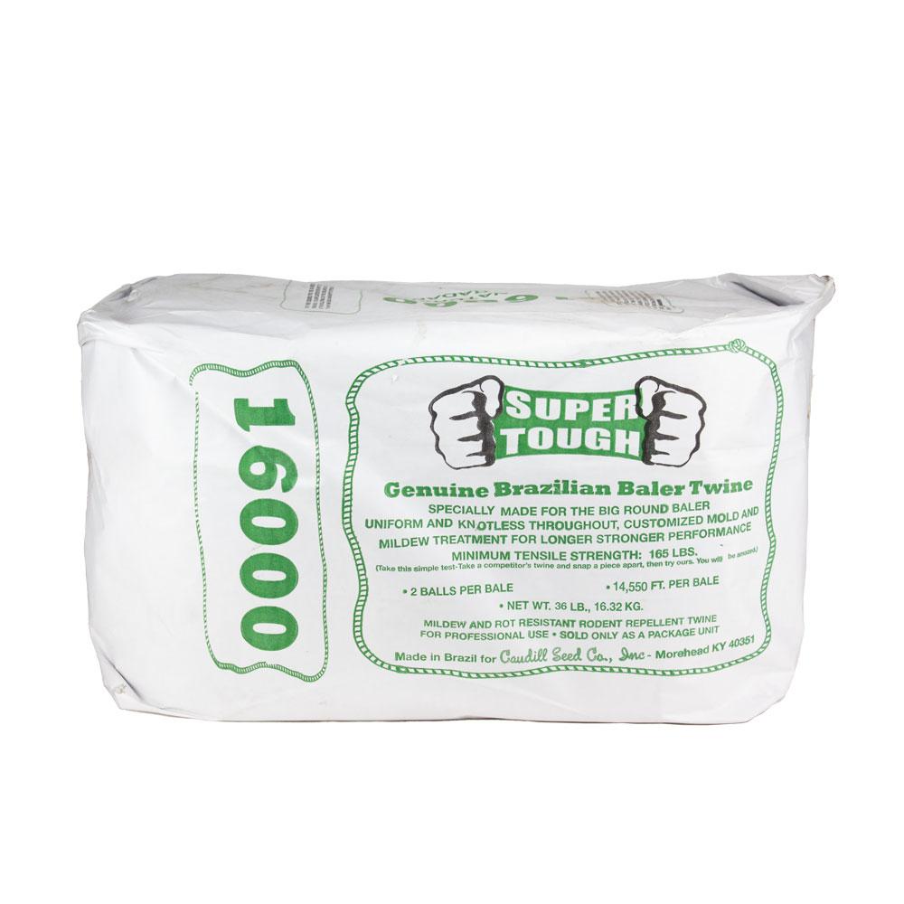 Super Tough Sisal Baler Twine - 16000 Ft - 165 Strength | Caudill Seed Company
