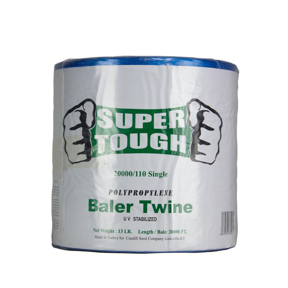 Super Tough Baler Twine - 20000 Ft - 110 Strength - Single | Caudill Seed Company