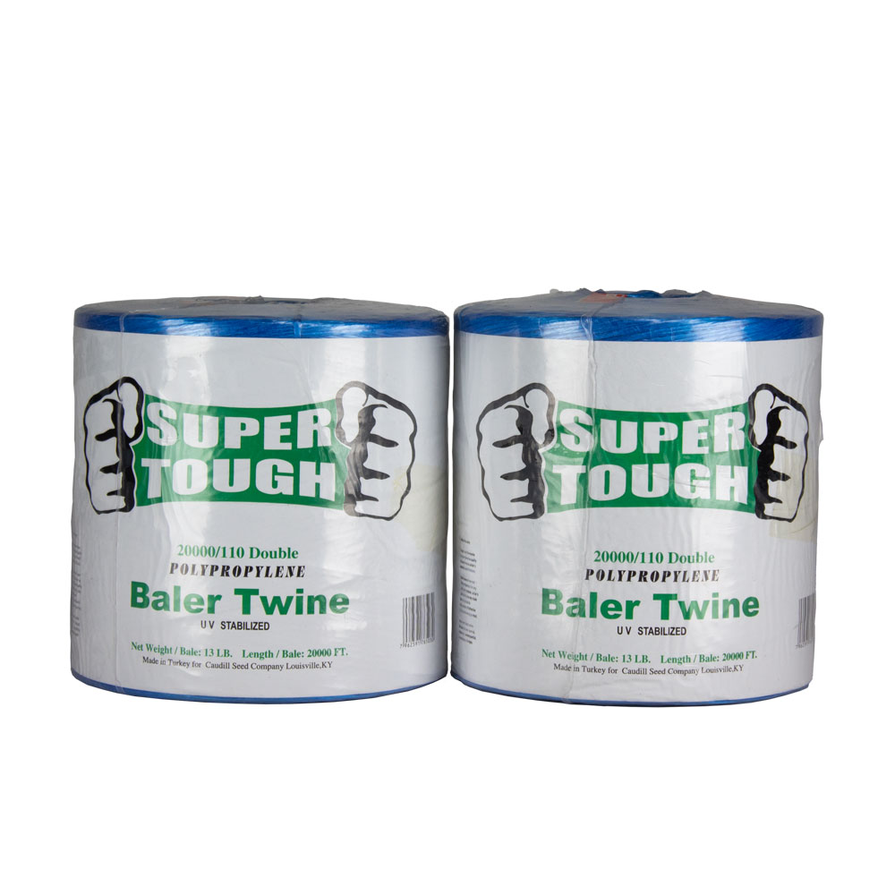 Super Tough Baler Twine - 20000 Ft - 110 Strength - Double | Caudill Seed Company