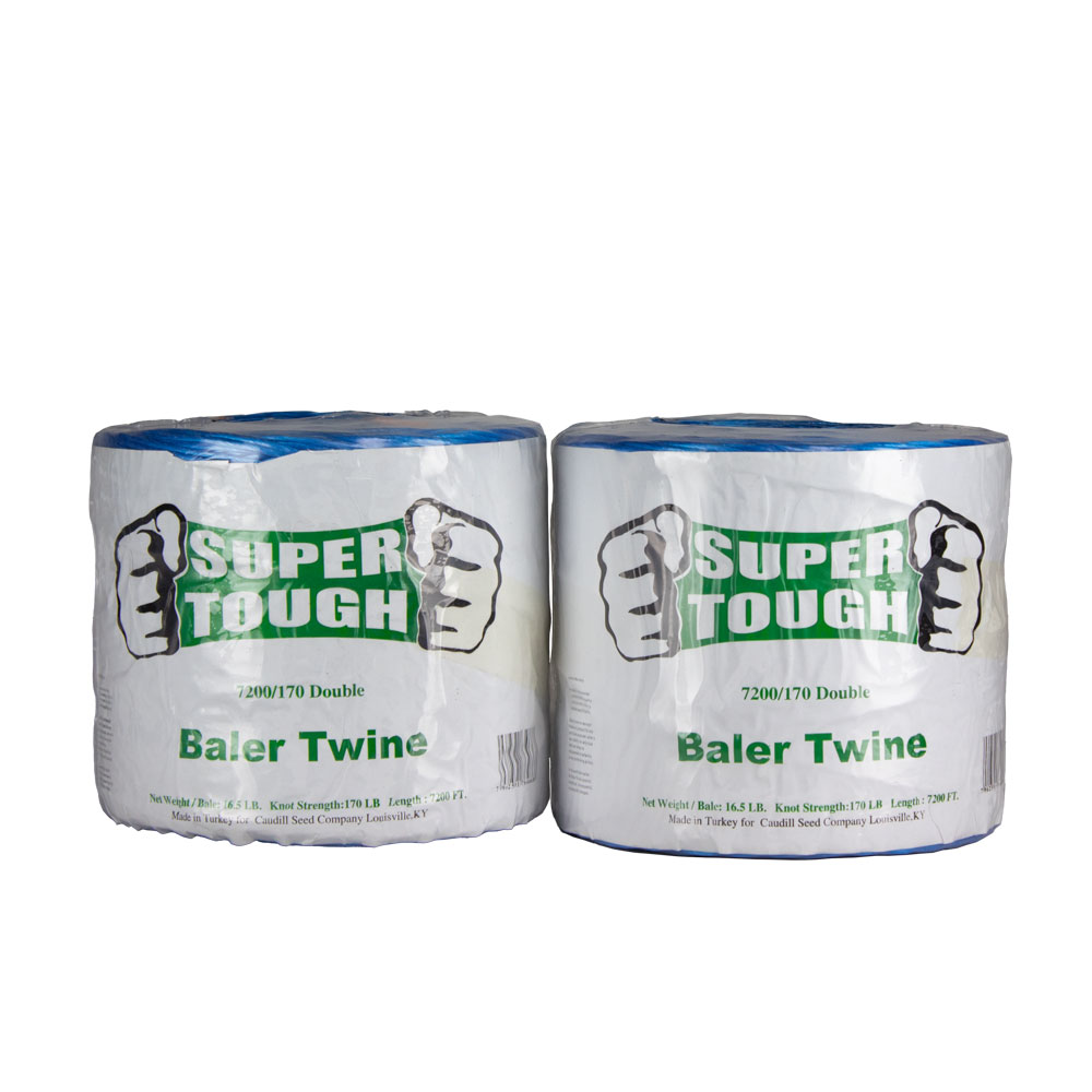 Super Tough Baler Twine - 7200 Ft - 170 Strength - Double   Caudill Seed Company