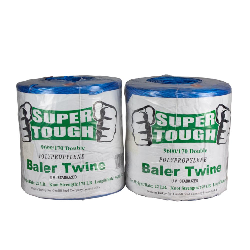 Super Tough Baler Twine - 9600 Ft - 170 Strength | Caudill Seed Company