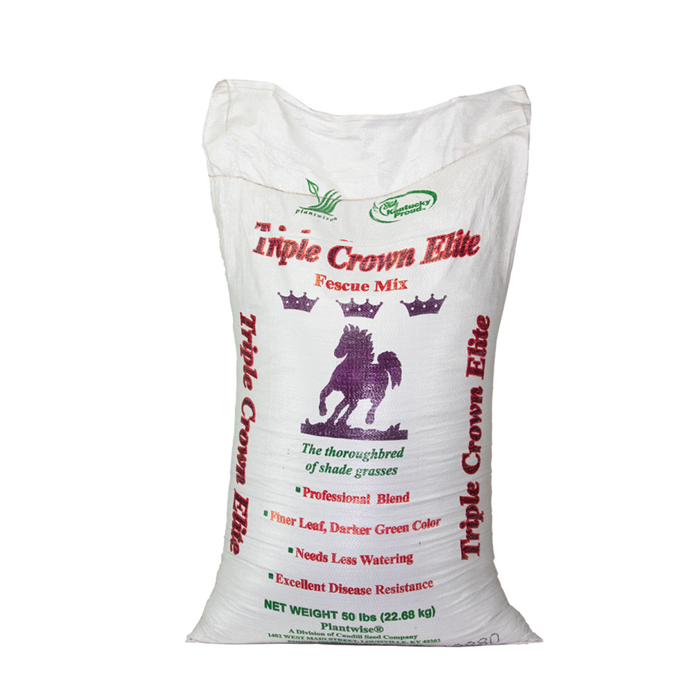 Triple Crown Elite Grass Seed Mixture - Caudill Seed Company