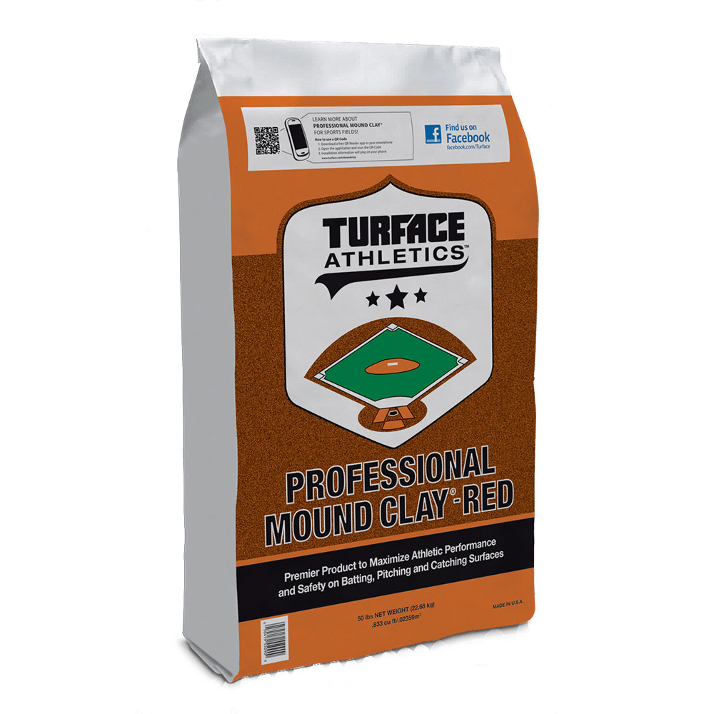 Turface Athletics Professional Mound Clay - Red - Caudill Seed Company
