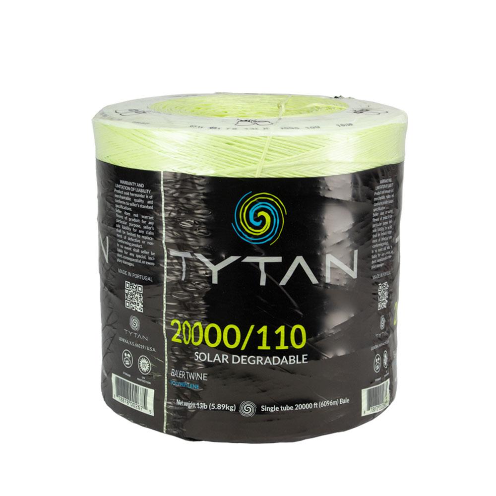 Tytan 20000 ft - 110 Strength - Solar Degradable Baler Twine - Caudill Seed Company