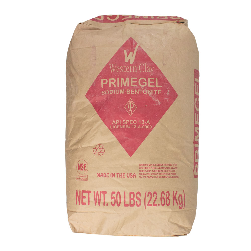 Western Clay Sodium Primegel Bentonite  - Caudill Seed Company