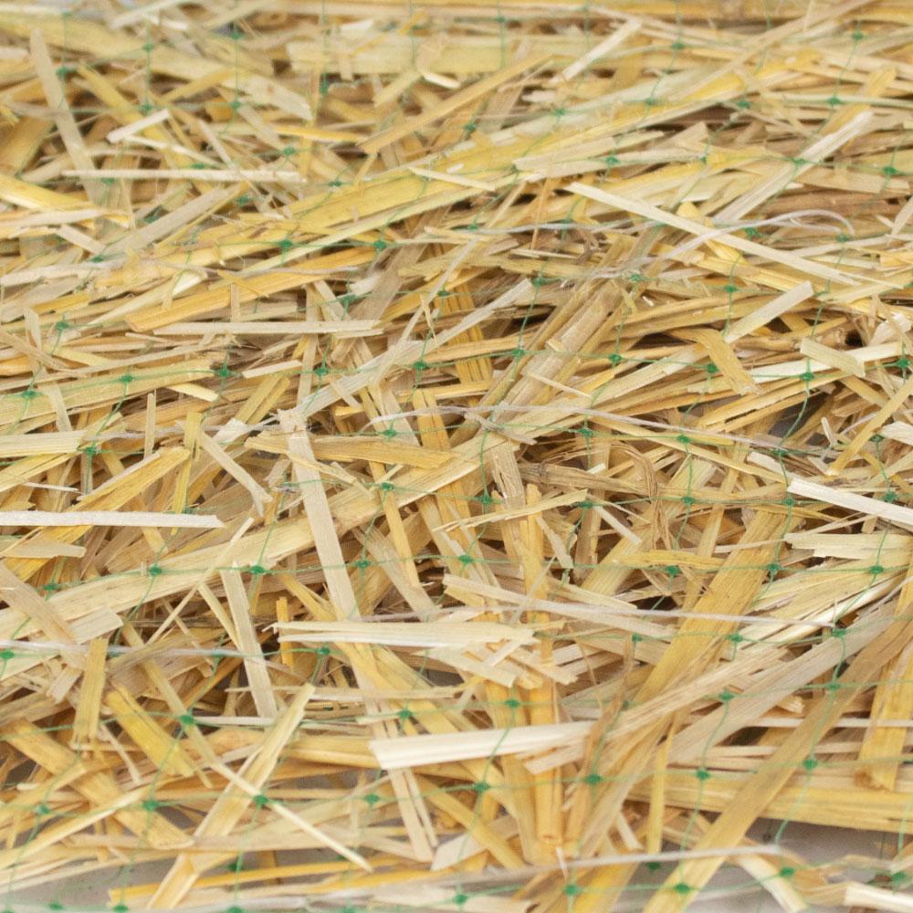 Double Sided Straw Erosion Control Blanket - Bulk - Wholesale - Caudill Seed Company